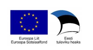 """Projekt on toetatud Euroopa Sotsiaalfondi vahenditest meetme """"Riigi võimekuse tõstmine inimressursside arendamise ja institutsionaalse suutlikkuse parendamise kaudu"""""""